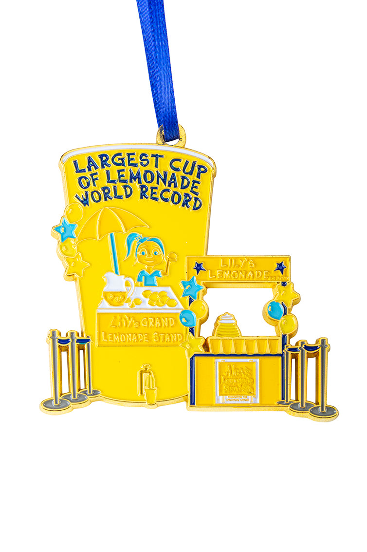 Big Cup Lemonade Stand Holiday Ornament