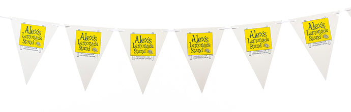 Lemonade Stand Pennant Flags