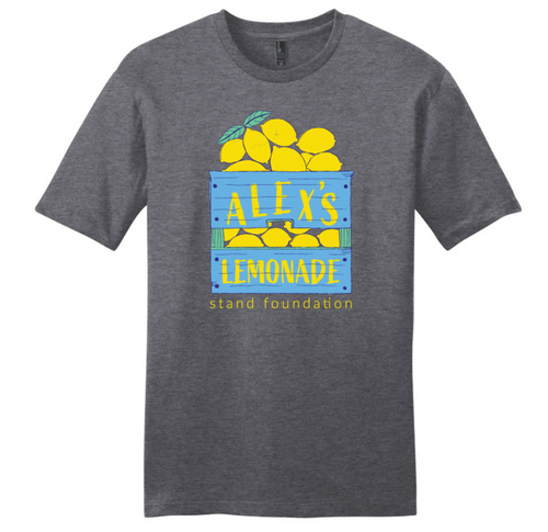 Lemon Crate Retro Style T-Shirt
