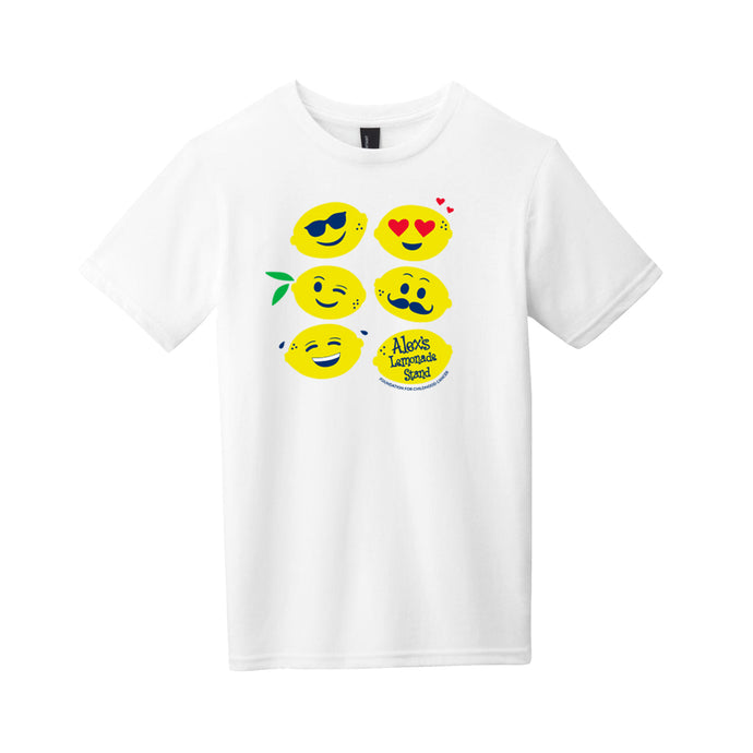 Lemon Emoji Youth T-Shirt