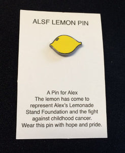 ALSF Lemon Pins