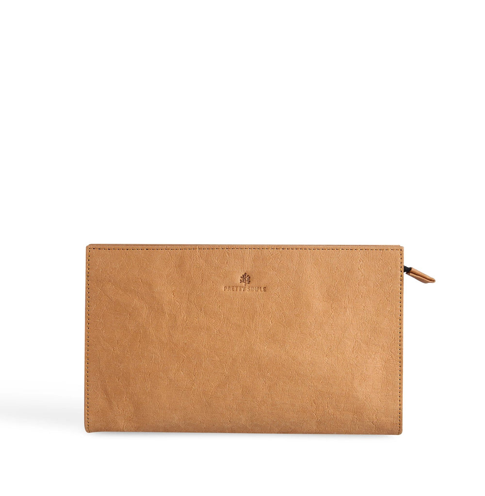 Talia Crossbody Clutch | Bight Camel