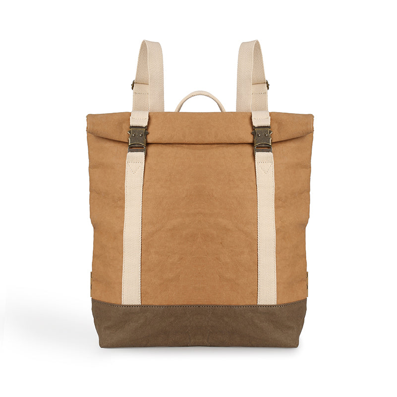 Geva Washable Paper Backpack Camel