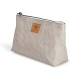 Sofia Vegan Cosmetic Bag | Gray