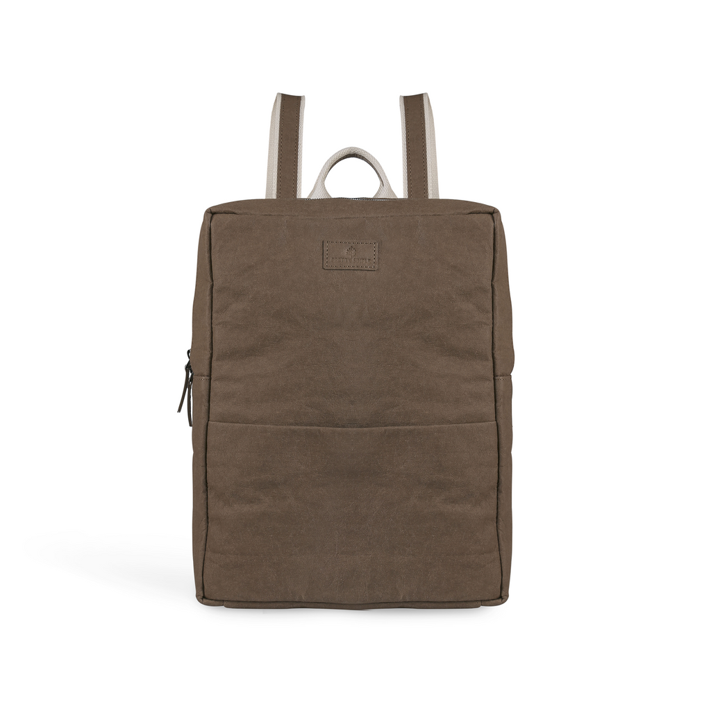 Vegan laptop backpack