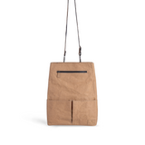 Convertible backpack and crossbody bag made of plant-based vegan leather