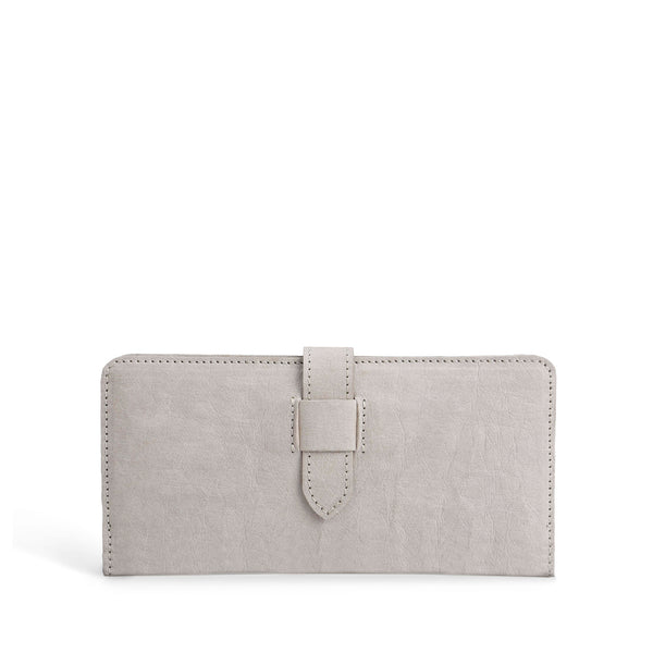 Zoy Bifold Vegan Wallet | Grey