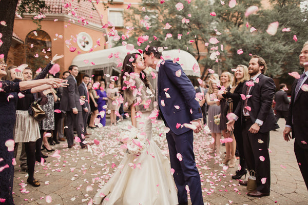 Romantic Wedding With Pink Peonies at The Mansion on Turtle Creek