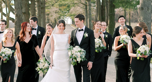 Ashford Estate Wedding Where A Dramatic Bow Meets Classic