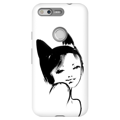 Kitty Mama Tough Case for Google Pixel Phone