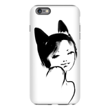 Kitty Mama Tough Case for iPhone