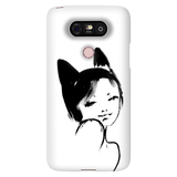 Kitty Mama Snap Case for LG Phone