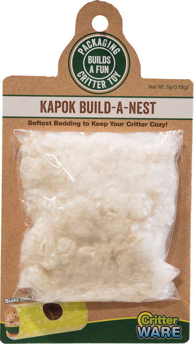 Critter Kapok Build A Nest