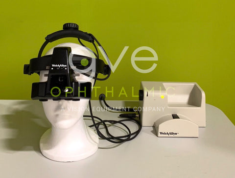 Welch Allyn 12500 Binocular Indirect Ophthalmoscope with Power Supply
