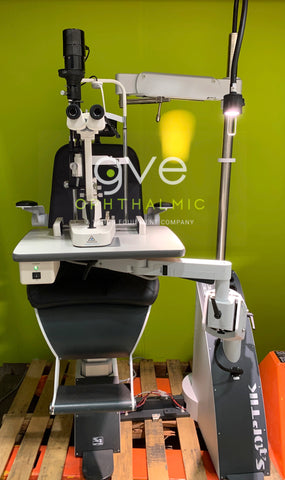 S4OPTIK 1800-CB Combo Stand Unit, Chair and Slit Lamp