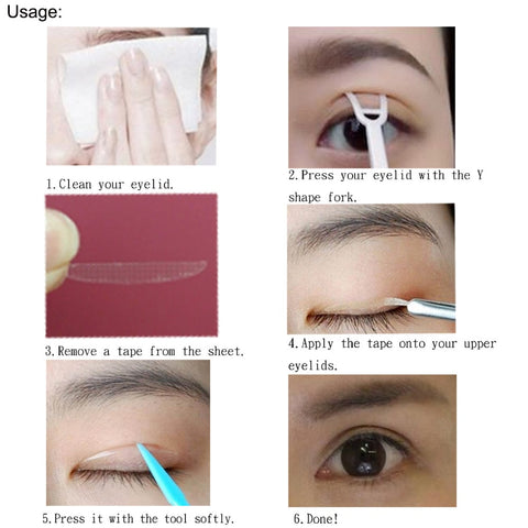 Anti-aging Eyelid Tape (600 Pcs) - White Bear Store