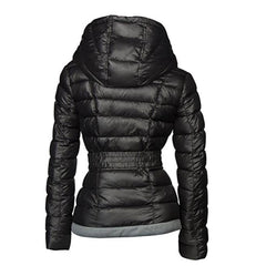 Ultra Light Hooded Parka Jacket for Women