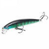 Image of Minnow Crankbait Fishing Lure - Hard Bait - White Bear Store