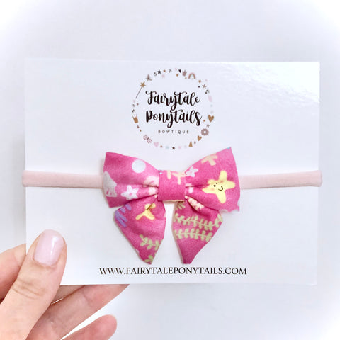 Under the Sea - Mini Sailor Bow Headband
