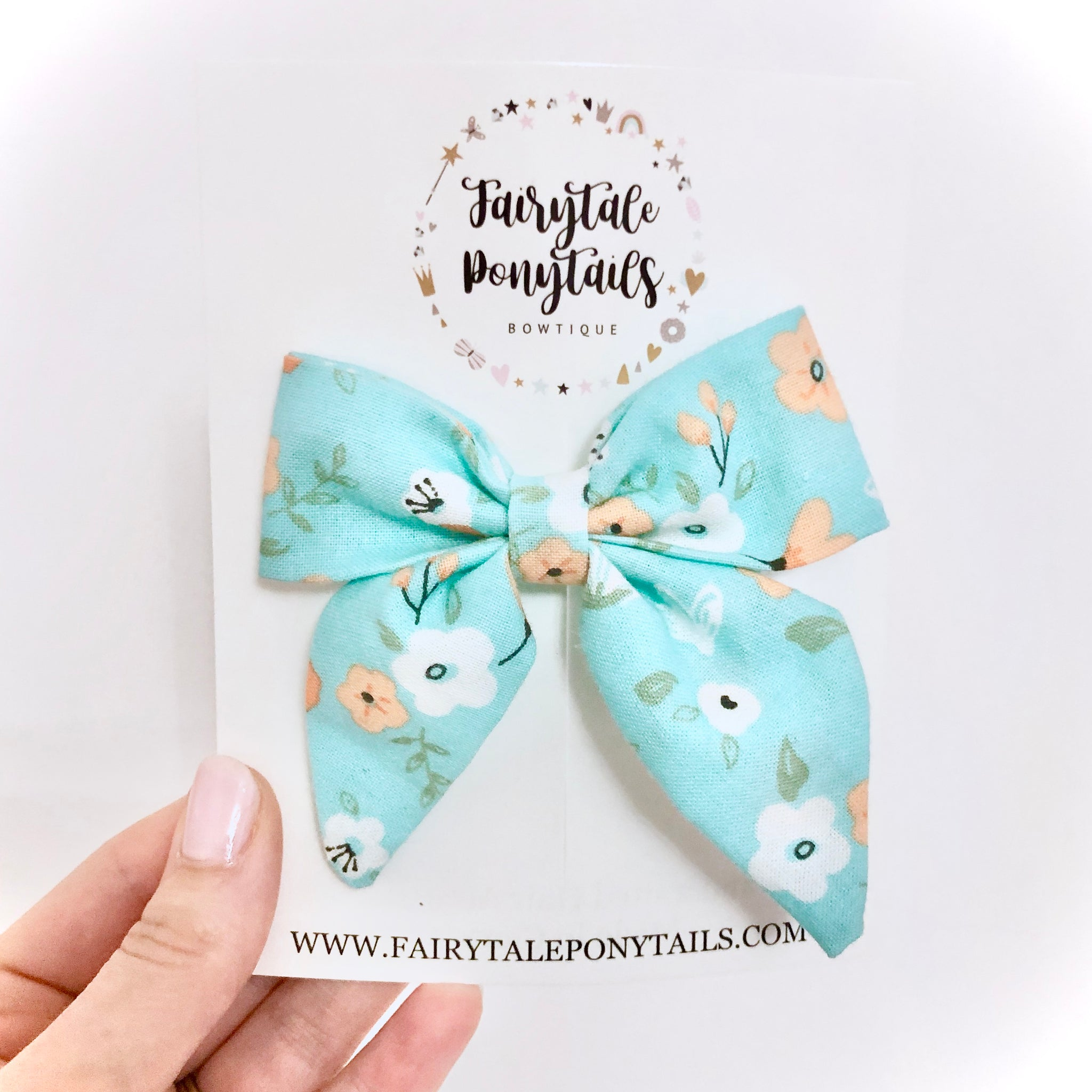 Spring Blooms - Oversize Sailor Bow Clip