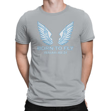 Load image into Gallery viewer, Isaiah 40:31 Christian T-Shirt - Born To Fly