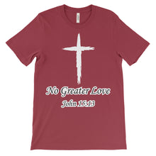 Load image into Gallery viewer, No Greater Love Christian T-Shirt