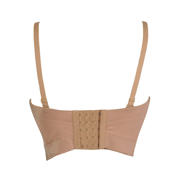 Basic Smooth Women's Bustier Bra Crop Top - FANCYMAKE
