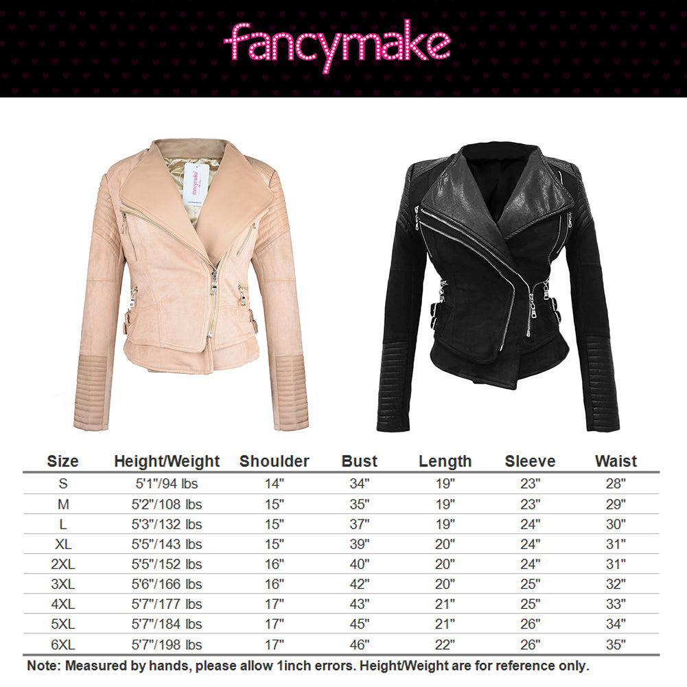 Faux Suede Leather Jacket Women Coat Moto Jackets Free Shipping丨