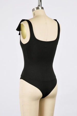 Happy Hour Bodysuit -Black
