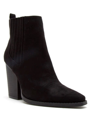 Route 66 Heeled Bootie- Black
