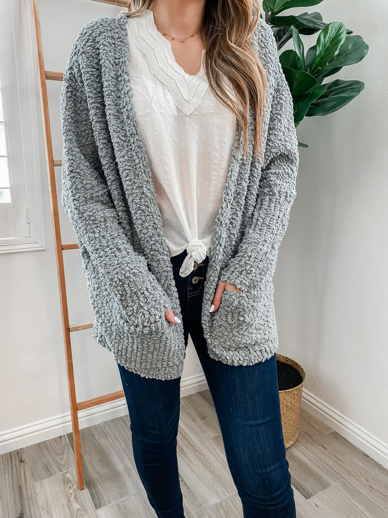 Cool Weather Popcorn Cardigan | FINAL SALE