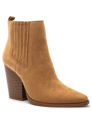 Route 66 Heeled Bootie- Butterscotch