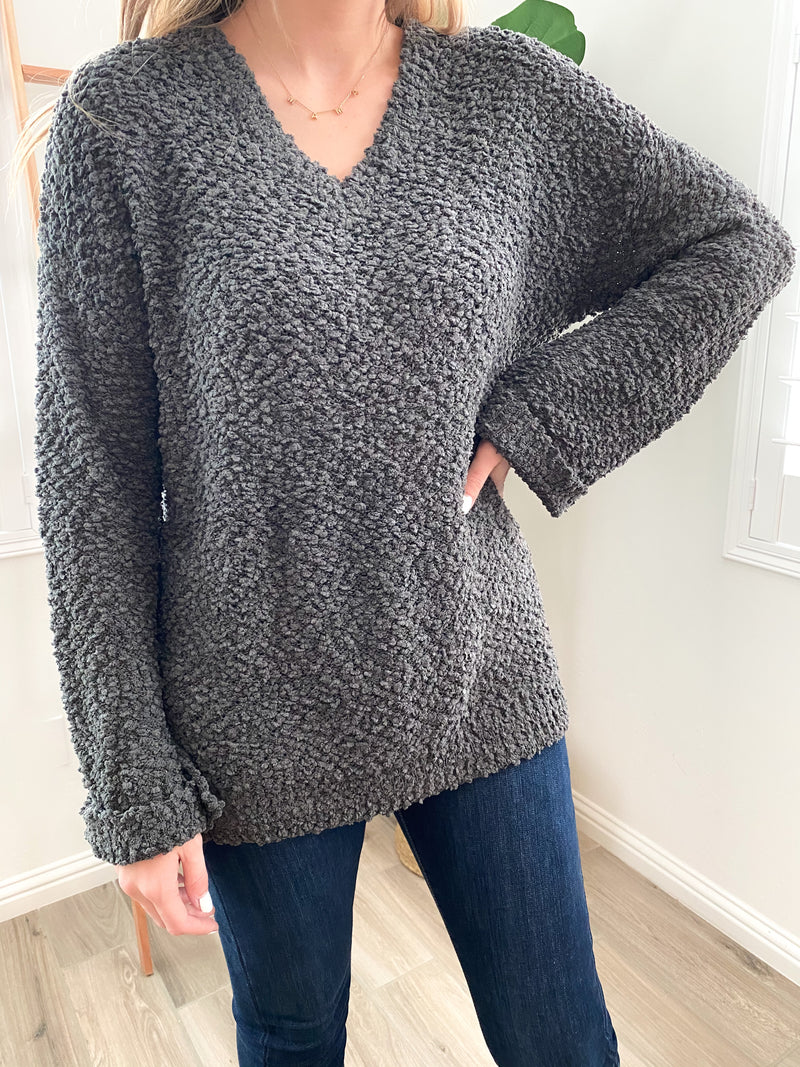 Carson Popcorn Sweater | FINAL SALE