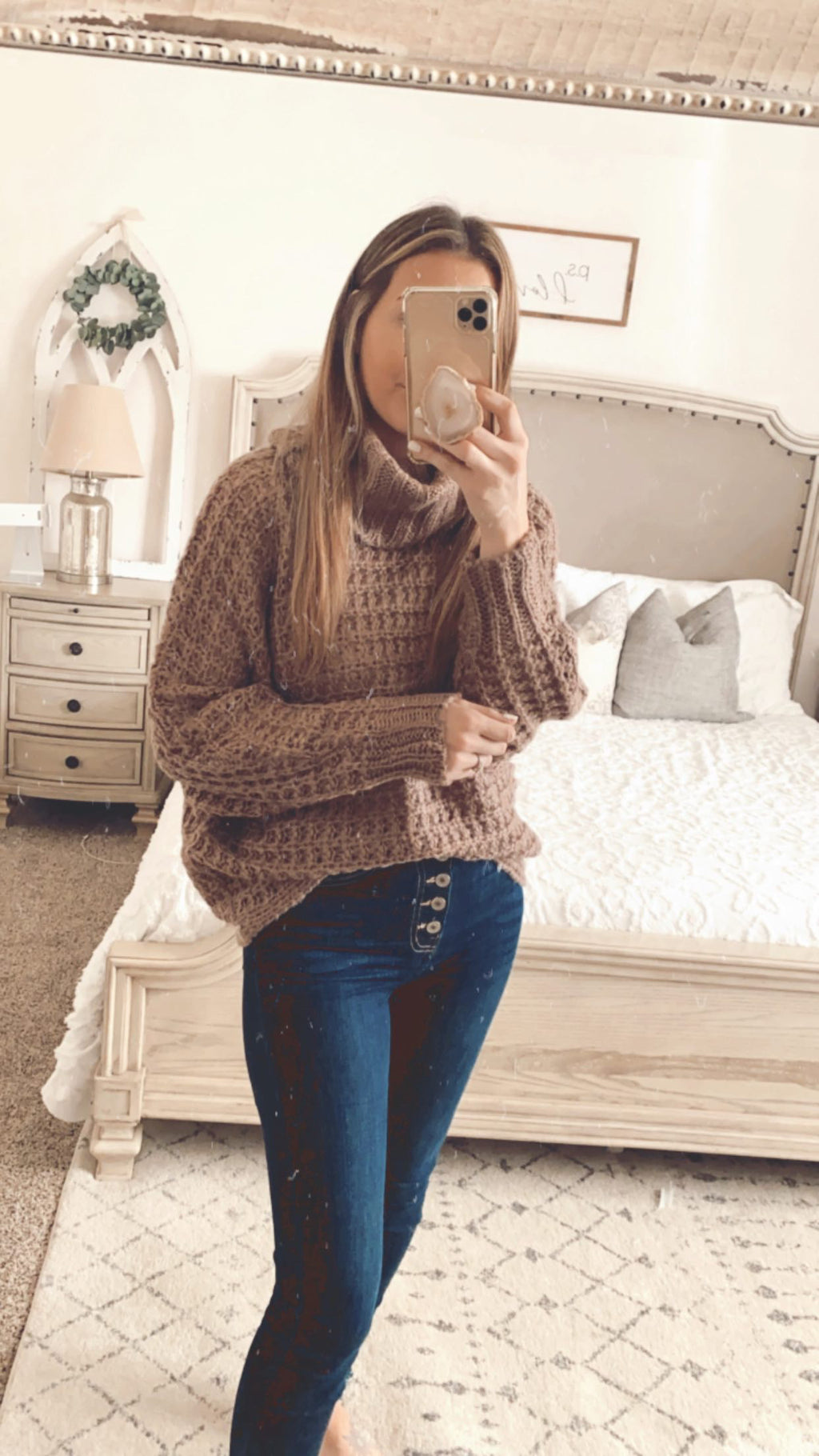 Jami Knitted Turtleneck Sweater
