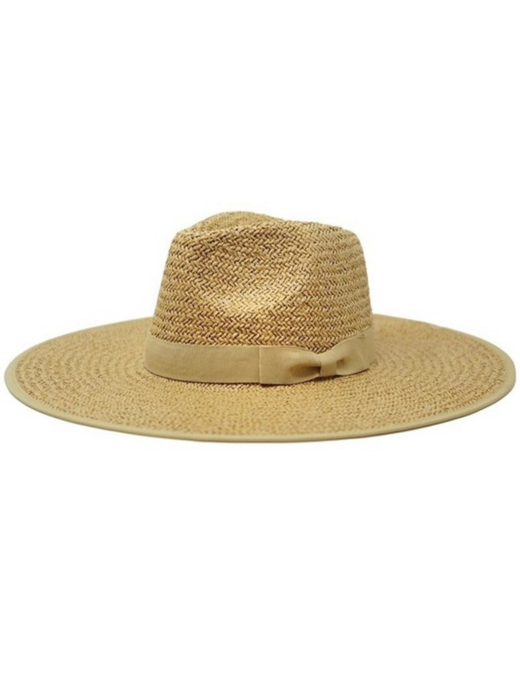 Emma Straw Hat - Toffee