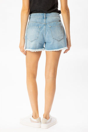 Hazel High Rise Mom Shorts | FINAL SALE