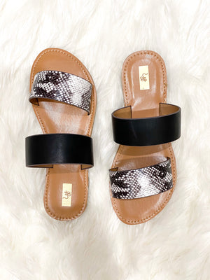 Tacoma Snakeskin Sandals | FINAL SALE