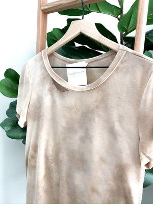 Sun Kissed Tie Dye Top -Taupe