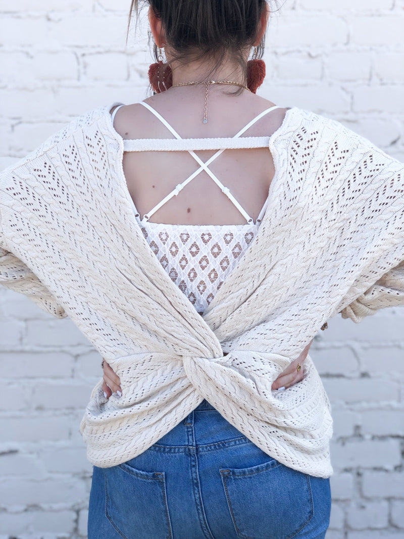 California Ivory Sweater