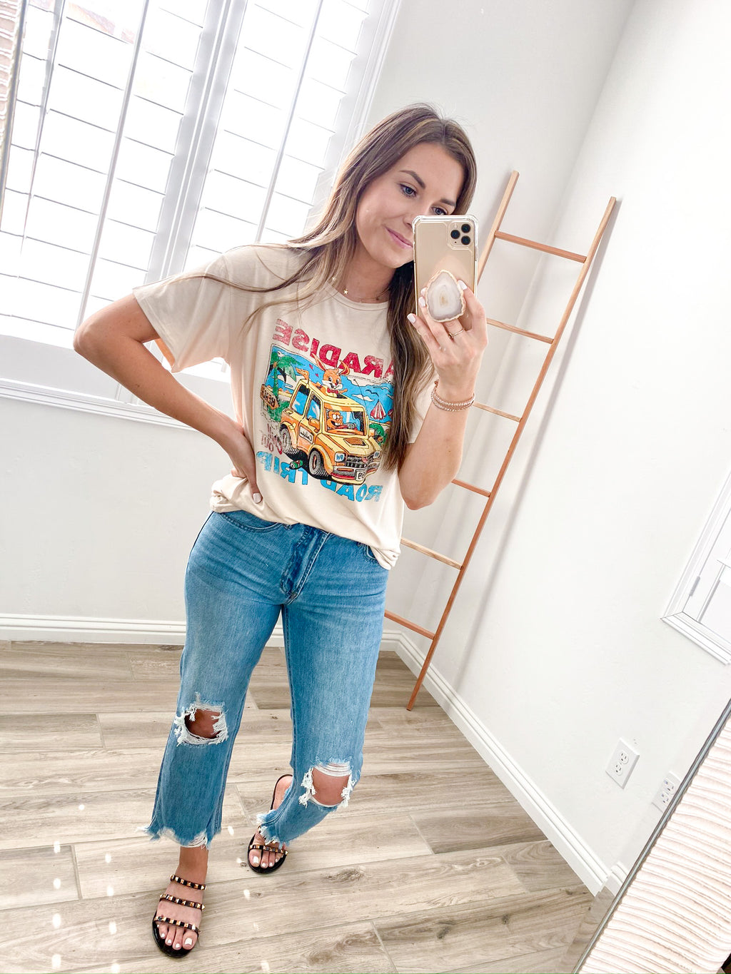 Paradise Road Trip Graphic Tee
