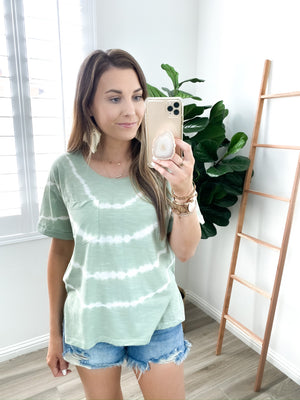 Phoenix Sage Tie Dye Top | FINAL SALE