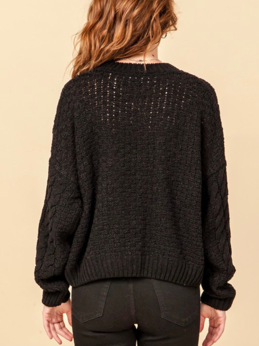 Cassie Cable Knit Sweater