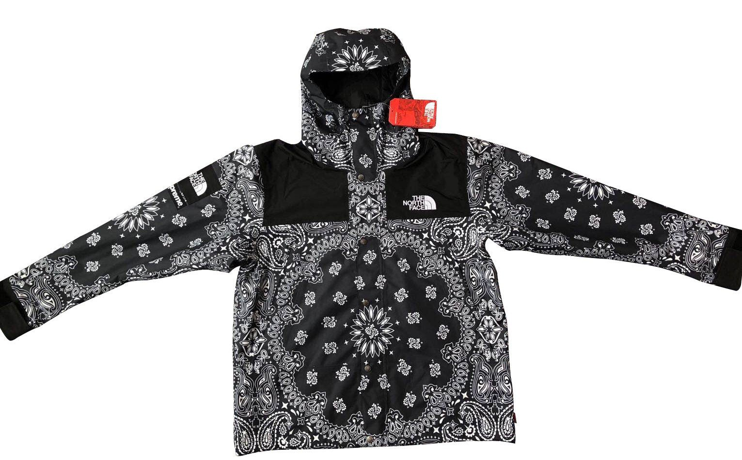 Supreme x The North Face Bandana Mountain Jacket FW14 – King Sneaker ... 7a5cd813f