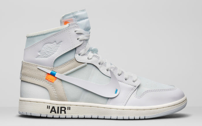 "4f9f14bcdcddad Off White x NK Air Jordan 1 ""All White"" – O R I G I N A L.   King ..."