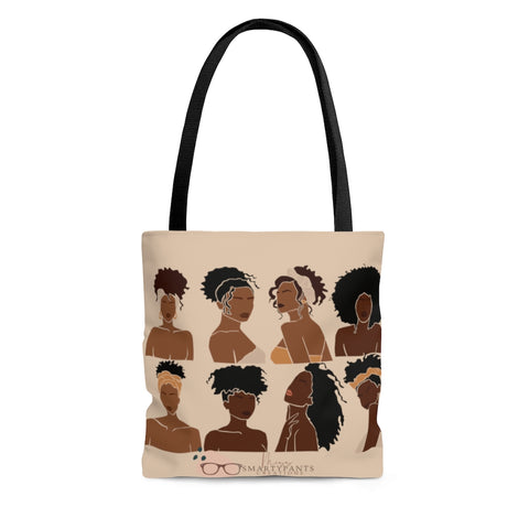 Shades of Melanin Canvas Tote Bag