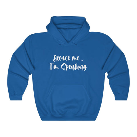 Excuse Me, I'm Speaking VP Kamala Harris Unisex Hoodie Hooded Sweatshirt