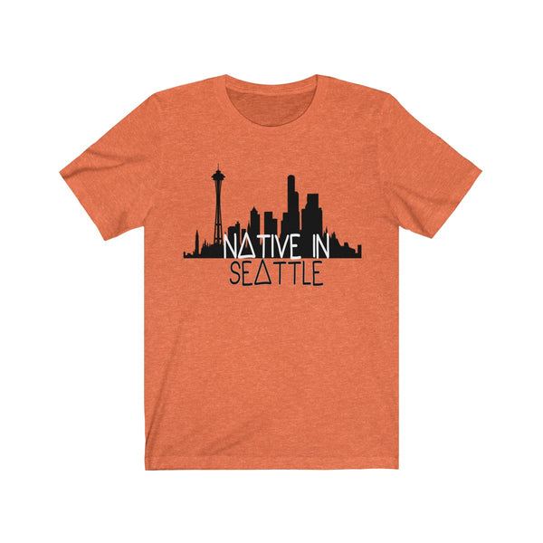 Native in Seattle Short Sleeve Tee
