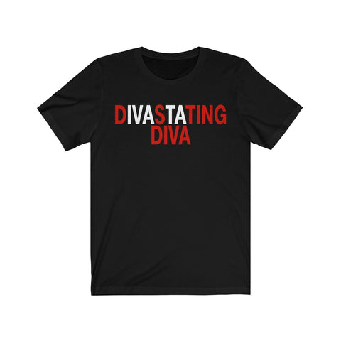 Divastating DIVA  #J13 Short Sleeve Tee
