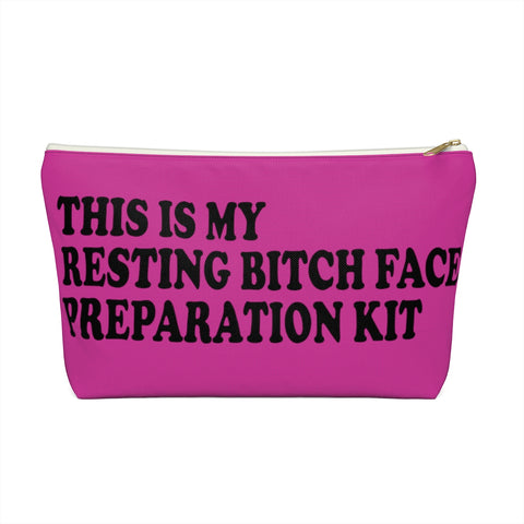 This is my RBF Prep Kit Makeup Planner Pouch Bag