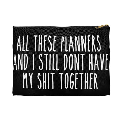 All These Planners But I...Planner Pens Storage pouch